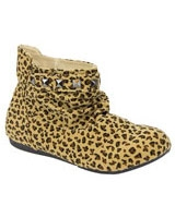 Ankle Boot With Metal Tiger - Walkies