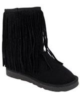 Ugg Like With Fur Black - Walkies