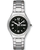 His Tender Black Men's Watch YGS740G - Swatch