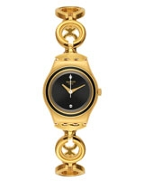 Black Hat Ladies' Watch YSG130G - Swatch