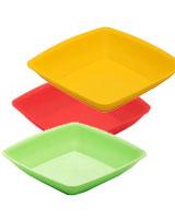 Deep Square Plate - Zahran