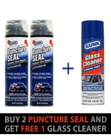 2 Puncture Seal + Free 1 Glass Cleaner - Gunk