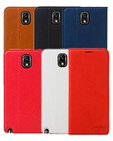 Galaxy Note3 Italian Card Pocket Flip Case - Tridea