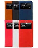 Galaxy Note3 Italian Standing View Cover - Tridea