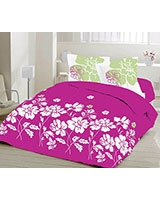 Double size printed bed set Bella design - Comfort