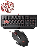 Bloody Gaming Mouse & Keyboard - A4Tech