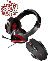 Bloody Gaming Mouse & Headset - A4Tech
