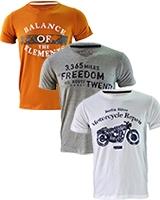 Three Printed T-shirts Bundle B - Dandy