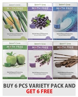 Moth Free 6 Pcs Variety Pack - blu