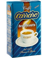 Decaffeinato 250g - Carraro