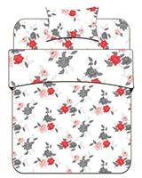 Winter fiber quilt Flowers Design - Best Bed