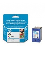 HP 22 Tri-color Inkjet Print Cartridge (C9352AE)