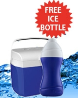 Ice Box 10 Liter + Free Ice Bottle 0.75 Liter - Tank