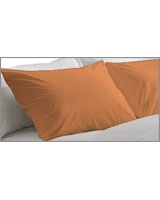 Plain Pillowcase Fashion Nectarine - Comfort