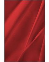 Plain Flat Bed Sheet Fashion Poppy Red - Comfort