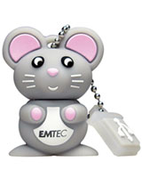 Flash Drive M312 Mouse 8GB - EMTEC