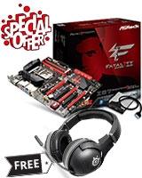 Fatal1ty Z87 Professional Motherboard - ASRock + FREE Spectrum 7xb Wireless headset- SteelSeries