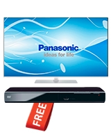 "LED TV VIERA® 50"" TH-L50E6 + DVD Player S500 - Panasonic"