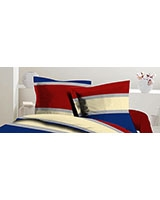 Pillowcase Pantone Design Red x Blue - Comfort