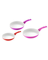 Set of 3 Non-Stick Ceramic Pan