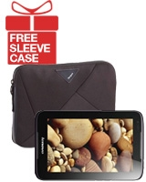 "IdeaTab A3000 With Voice Tablet - Lenovo + Free A7 Sleeve for Tablet 7"" TSS262EU - Targus"