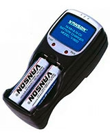 V-6833 Charger NI-MH/Ni-Cd 4 Batteries AA / AAA - Vanson