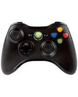 Wireless Controller Black Chrome - Xbox 360