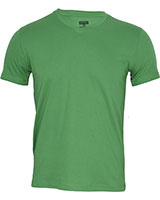 V-Neck Basic T-Shirt 02HN055 Green - Dandy