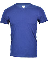 V-Neck Basic T-Shirt 02HN055 Navy - Dandy