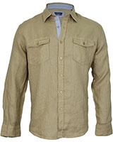 Long Sleeve Shirt 03KU002 Beige - Dandy