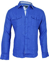 Long Sleeve Shirt 03KU002 Blue - Dandy