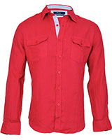 Long Sleeve Shirt 03KU002 Red - Dandy
