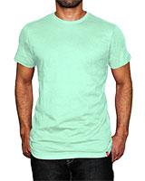 Crew Neck T-Shirt Brook Green - KAF