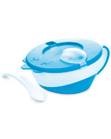 Feeding bowl with Lid & Spoon 350 ml - Canpol Babies