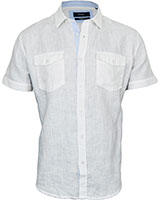 Short Sleeve Shirt 33KU001 White - Dandy