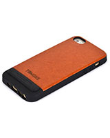 Apple iPhone 5 Tongke Leather Back Cover - Tridea