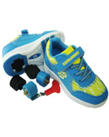 Wheel Shoes JY-010CS Blue/Yellow