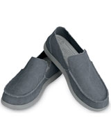 Santa Cruz Mens Light Grey/Charcoal - Crocs