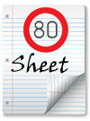 80 Sheet+