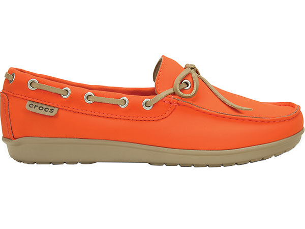3f8f8de9582 Women s Wrap ColorLite Loafer Tangerine Tumbleweed 15753 - Crocs. Click to  zoom