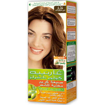 Color Naturals 6.34 Chocolate - Garnier :: Hair Colour ...