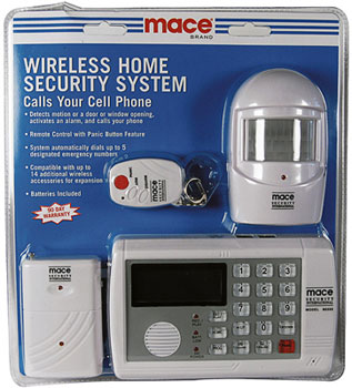 Wireless Home Security System Mace Security Systems
