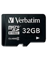 MicroSDHC Class 4 Memory Card 32GB - Verbatim