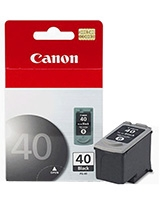 Black Ink Cartridge PG-40 0615B025AA - Canon