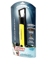 Flashlight with Carabiner WideBeam 076501222593 - Coleman