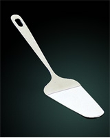 Triangle Stainless Steel Cake Server - Metaltex
