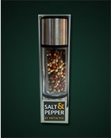 Salt & Pepper Mill 20 cm - Metaltex