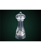 Acrylic Salt & Pepper Mill 14 cm - Metaltex