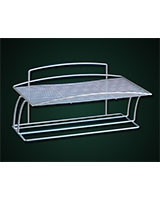 Towel holder shelf Onda - Metaltex