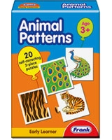 Animal Patterns Puzzle - Frank